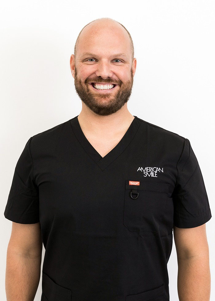 Dr Steffen at American Smile